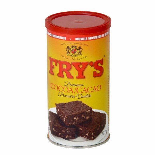 Tin of Fry's Premium Cocoa
