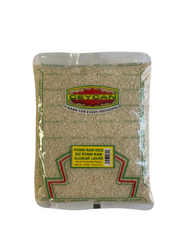 2lb bag of ponni raw rice