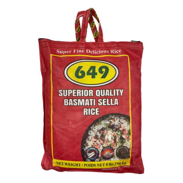 8lb Bag of Basmati Rice