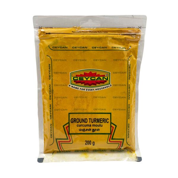 200g Bag of Ground Turmeric/Haldi/Manjal