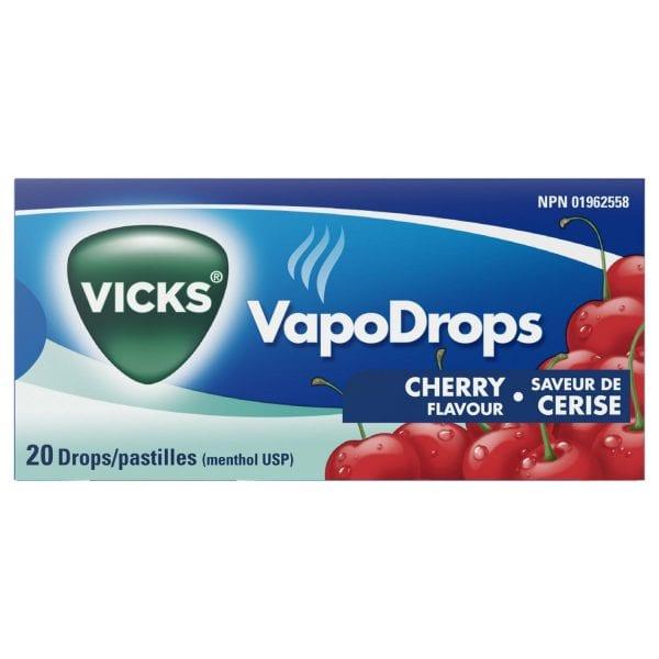 Vicks VapoDrops 20pk box