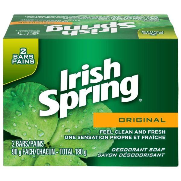 Box of 2 Pack Irish Spring Soap