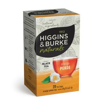 Box of Higgins & Burke Naturals Orange Pekoe Black Tea