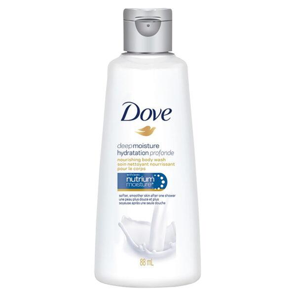 Bottle of Dove Deep Moisture Body Wash