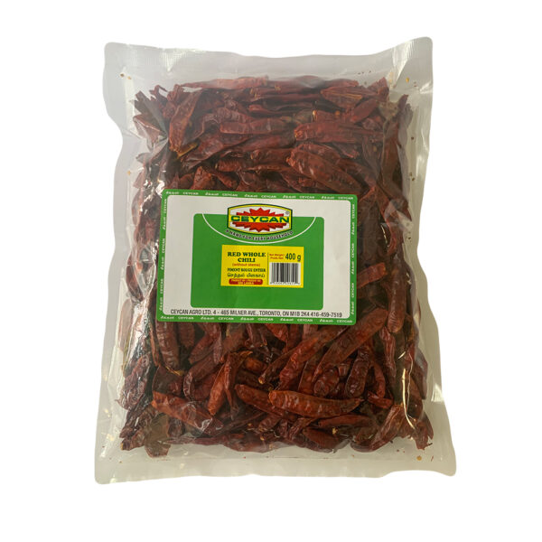 Red Whole Chili - 400g