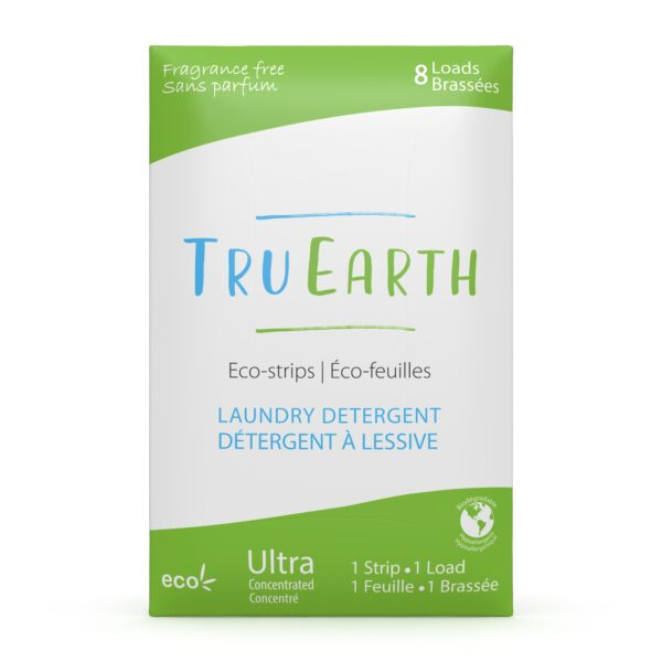 8 Tru Earth Laundry Detergent Strips